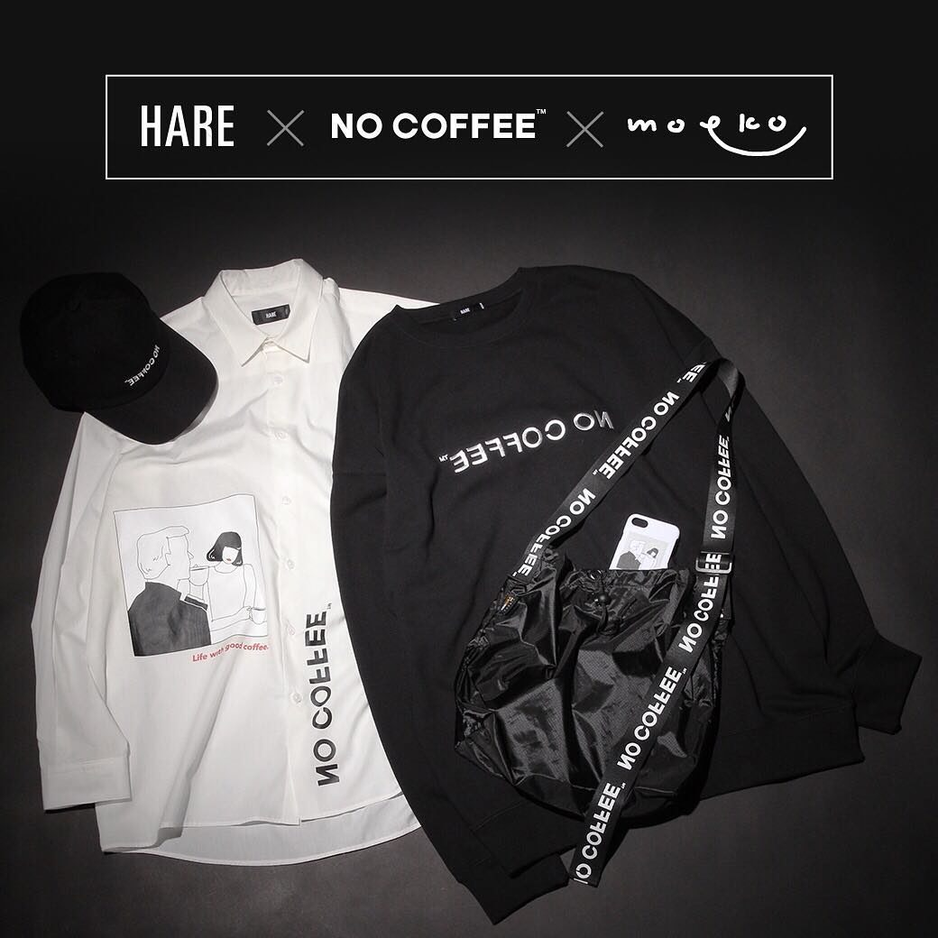 NO COFFEE × HARE
