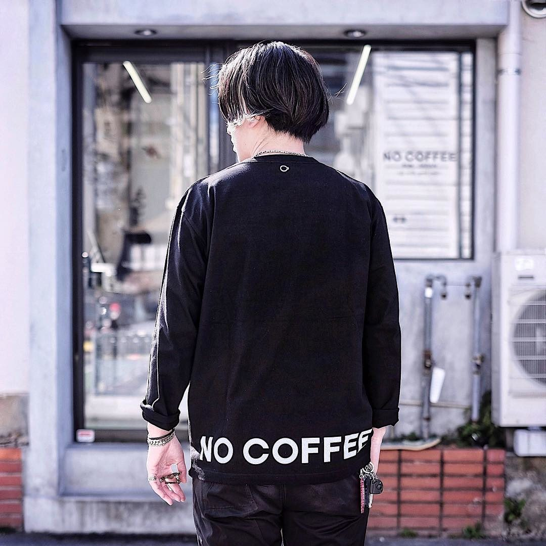 NO COFFEE LS LWGC Tシャツ