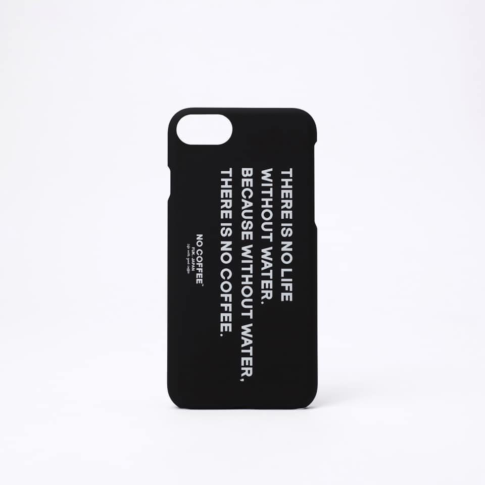 NO WATER iPhone case