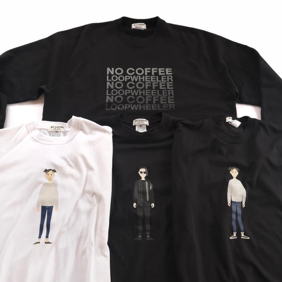 5周年記念商品第2弾 NO COFFEE × LOOPWHEELER