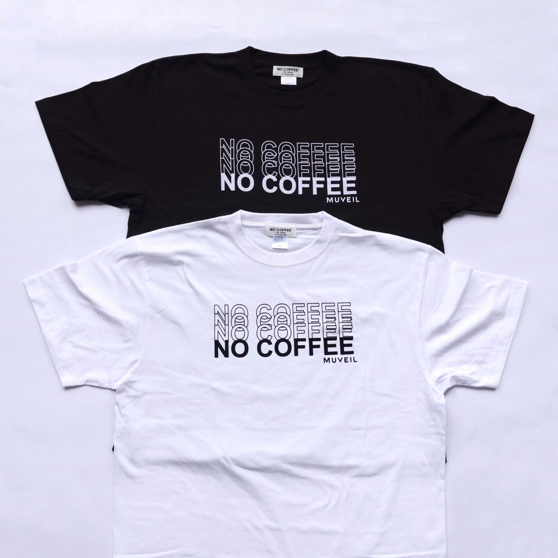 NO COFFEE × MUVEIL