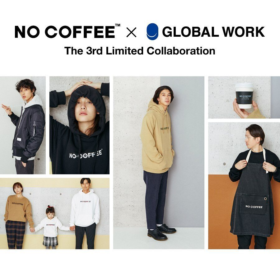 NO COFFEE × GLOBAL WORK 第3弾